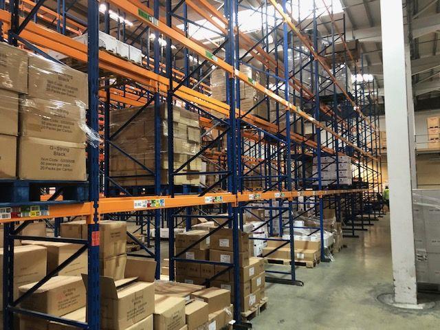 Porcelanosa Showroom Werrington - We Buy Used Racking Case Studies